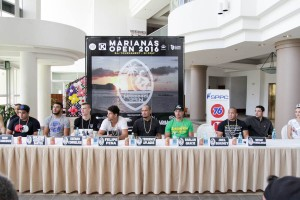 2016 Marianas Open Press Conference Verona Resort 2