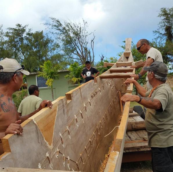 Tony Piaulig T.A.S.A facilities at the Saggan Kotturan Chamoru