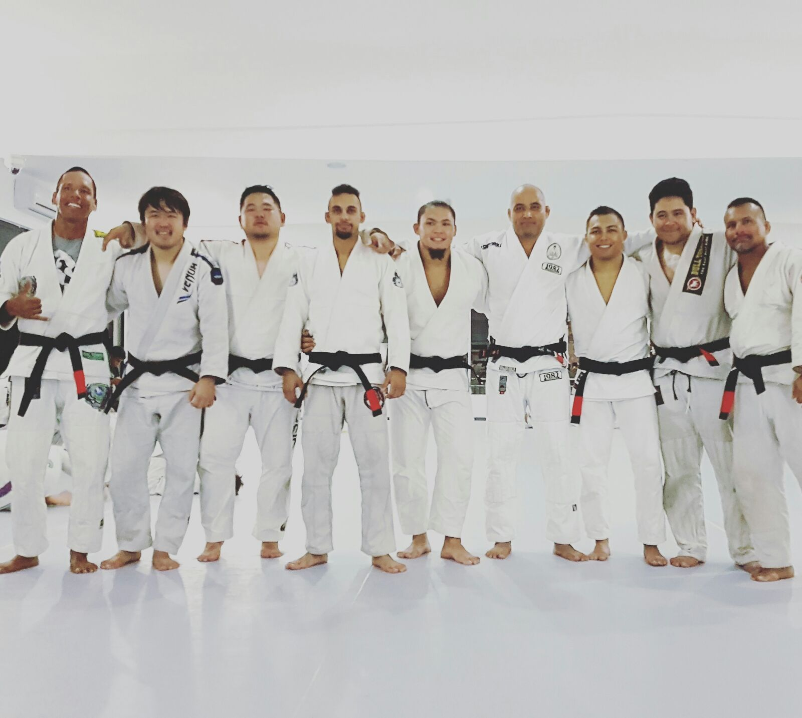 8 New BJJ Black Belts for Guam