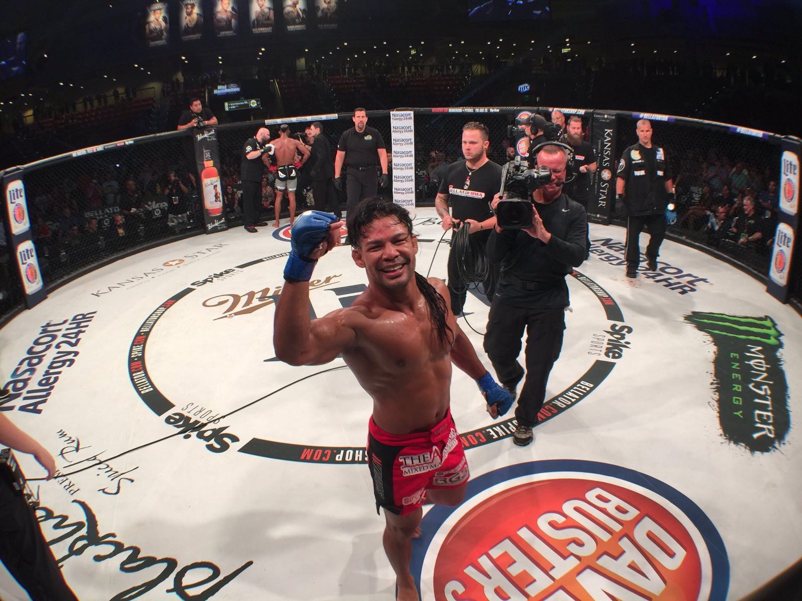 FULL FIGHT VIDEO: Guam's Baby Joe Taimanglo Bellator 159 win over Darrion Caldwell