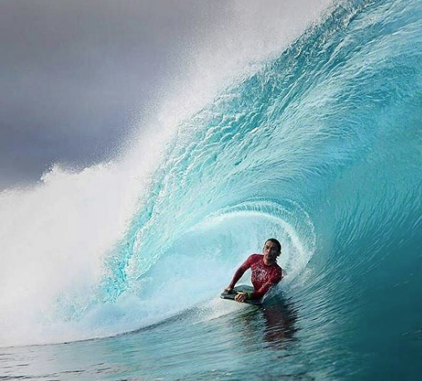 "R.I.P.PER Guam surfing today mourns the lost of one of its greatest surfing talents ever. BRIAN ""The Ripper"" Cruz"