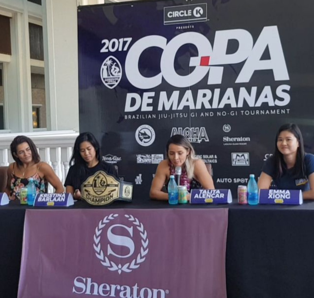 Why Jiujitsu? From Female Black Belt Copa De Marianas Competitor Talita Alencar